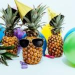 pineapple happy celebrate
