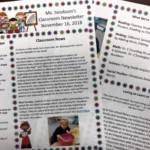Weekly Newsletters help families keep in touch with their child's education.