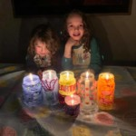 Lila and her lanterns